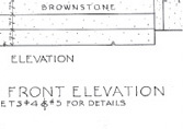 Plans - Front Elevation Detail